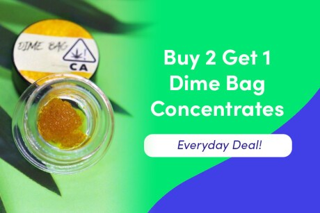 Dime Bag Concentrates - Buy 2 Get 1 For a Penny! Banner