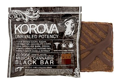 KOROVA- 1000MG- BLACK BAR BROWNIE