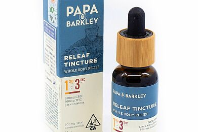Papa & Barkley Releaf Tincture CBD 1:3 THC - 30ML