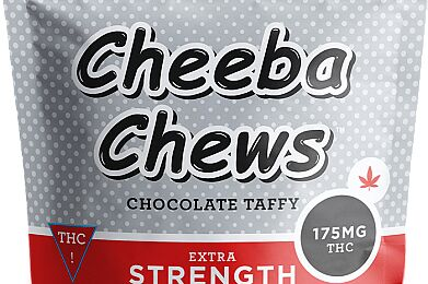 Cheeba Chews Extra Strength Medicated Chocolate Taffy