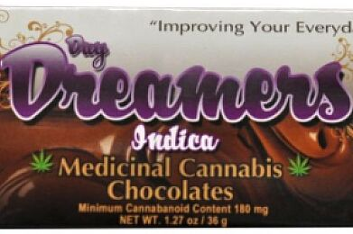 Day Dreamers - Chocolate Indica (180mg)