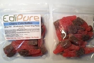 Cherry Cola Bottles - 100g