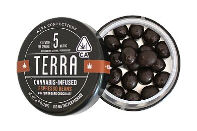 Kiva Confections Terra Bites - Espresso Dark Chocolate