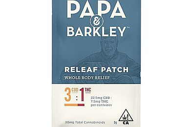 Papa & Barkley Releaf Patch CBD 3:1 THC