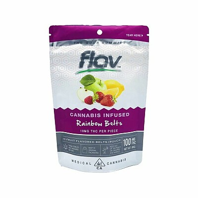 Flav Flavrx Rainbow Belts Edibles, Order Weed Online From The