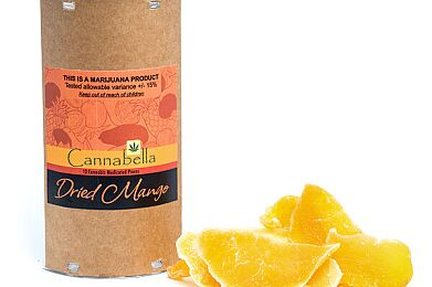 CBL Mango Dried Fruit 100mg 10pk