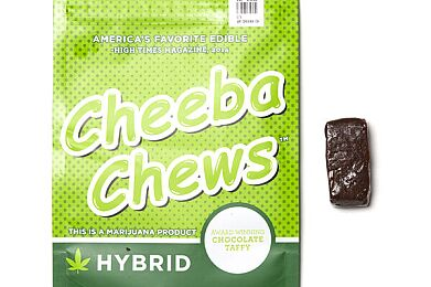 DRH Cheeba Chew Hybrid 100mg 10pk