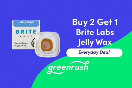 Buy 2 Get 1 Brite Labs Jelly Wax! Banner