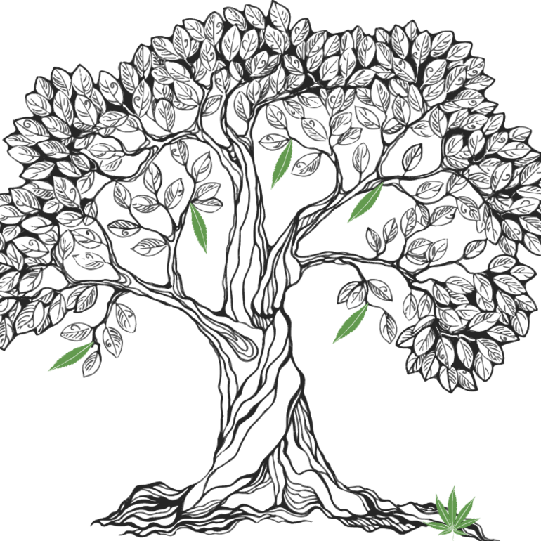 Bodhi Tree Coloring Pages