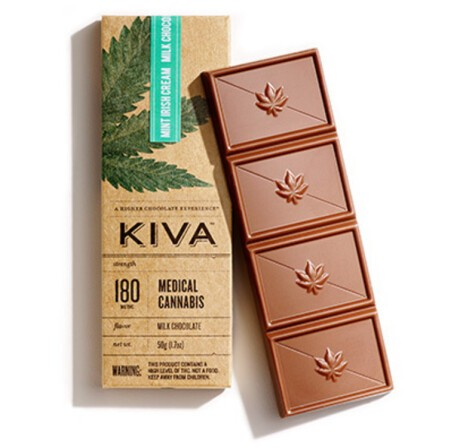 [Kiva] Chocolate Bar - 180MG