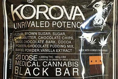 Korova - Black Bar 1000mg