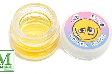 Dab Face Cotton Candy Tub 1G