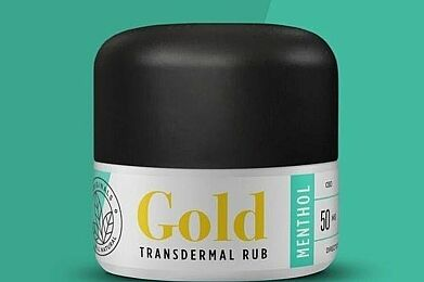 Gold Menthol Transdermal Rub