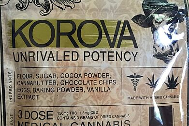 Korova - Triple Chocolate Brownie 150mg
