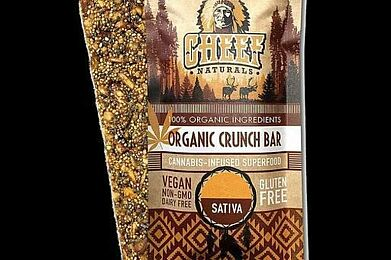 Organic Crunch Bar, Sativa 100mg