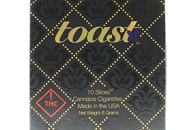 Toast Cannabis Cigarettes (10-pack)