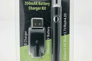 VERTEX 350MAH Variable Voltage Battery w/Charger