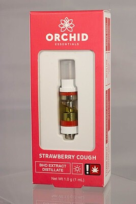 Strawberry Cough 1g Vape CART By Orchid Essentials