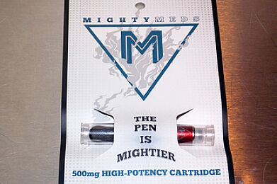 Mighty Meds 500 mg Cartridge