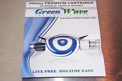 Green Wave Cartridge Sativa