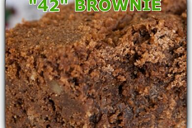 "Dr. Robert's | ""42"" Brownie (400mg)"
