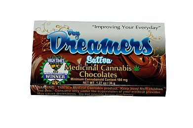 Day Dreamer Chocolate Sativa 180MG - Day Dreamers