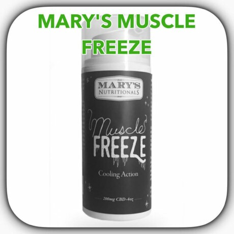 Mary's Medicinals | Muscle Freeze
