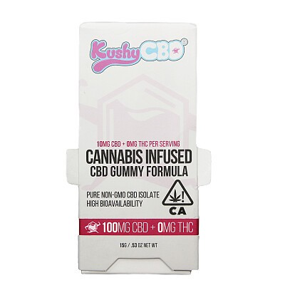 Kushy Punch CBD Peach 100mg