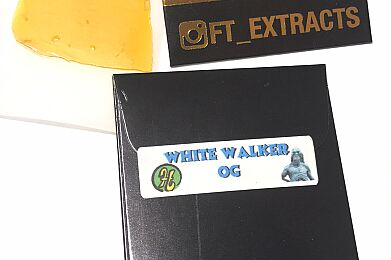 White Walker OG -Premium Live Resin - 1G - Future