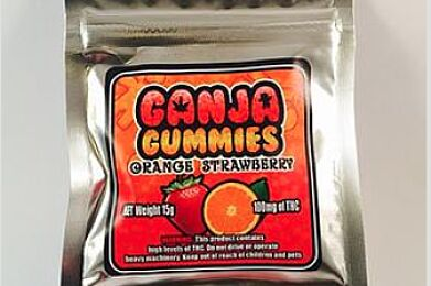 Ganja Gummies - Orange Strawberry