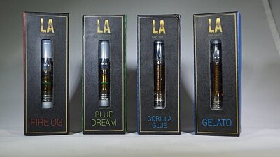 LA 420 Cartridge - Black Diamond Concentrates, Order Weed