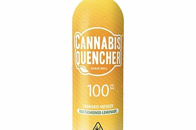 Old Fashioned Lemonade Cannabis Quencher - 100mg