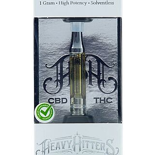 Heavy Hitters AC/DC CBD Cartridge 1g - Zen Healing West