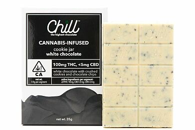 Chill Cookie Jar White Chocolate 100mg