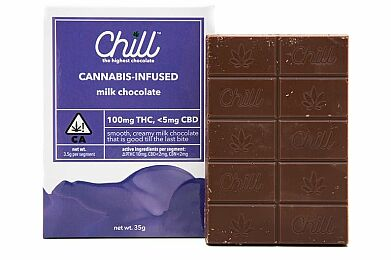 Chill Milk Chocolate 100mg