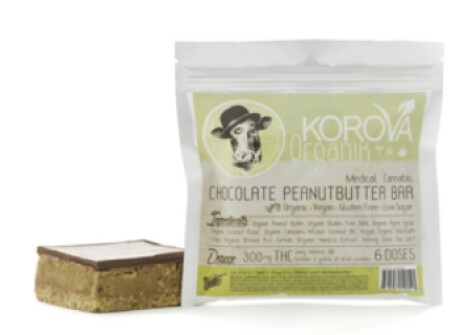 KOROVA ORGANIK - VEGAN CHOCOLATE PEANUT BUTTER BAR