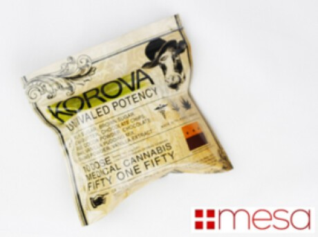 KOROVA - FIFTY ONE FIFTY BAR - 500MG THC