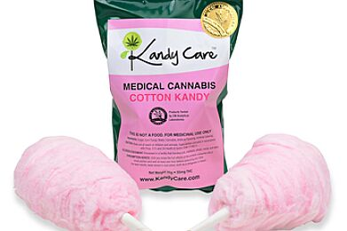 Blazed Blue Cotton Kandy 55mg - Great in champagne or hot chocolate!