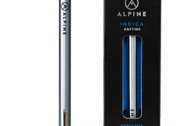 Alpine Lavender Ice Cream Disposable Vapor Pen 300mg