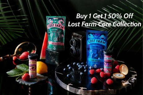 Buy 1 Get 1 50% Off Lost Farm Core Collection Banner
