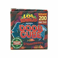 STRAWBERRY DOOB CUBE - 200MG
