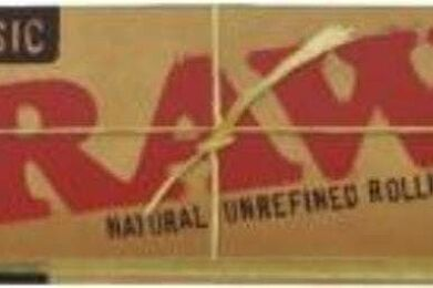 Raw Natural Unrefined 1.25'' Rolling Papers