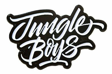 Jungle Boys Hat Pin (White)