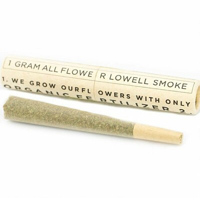 Blue Cookies Preroll - Lowell Farms PreRolls, Order Weed