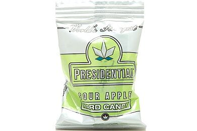 Sour Apple Hard Candy 25mg