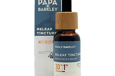 Papa & Barkley Releaf Tincture CBD 30:1 THC - 30ML