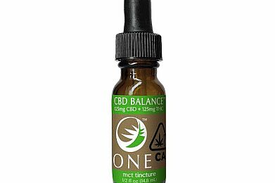 CBD Balance ONE 1:1 Tincture - 125mg