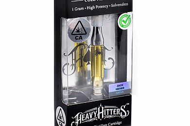 Heavy Hitters Jack Herer Cartridge 1g