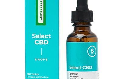 (SEL) Tincture 1000mg - Peppermint