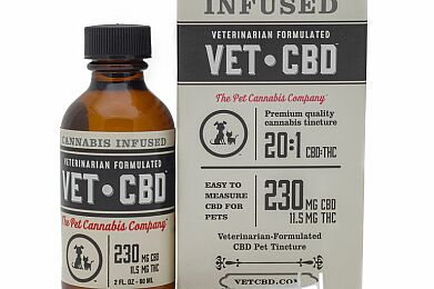 Vet CBD Vet CBD 20:1 125mg 1oz pet tincture